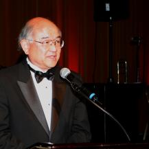 ken hayashi speaking at an event