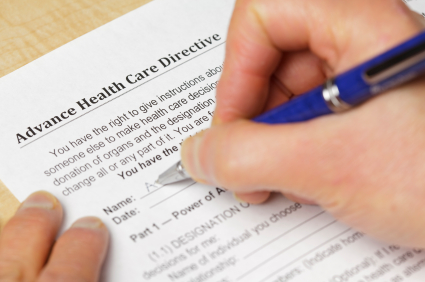 advanced healthcare directive