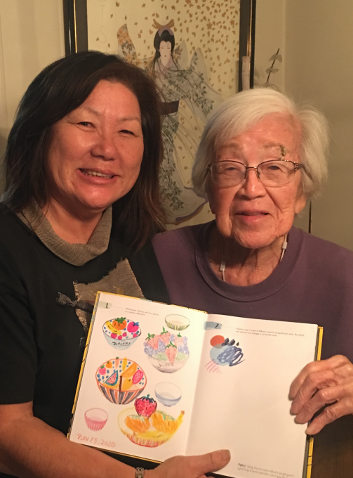 Diana and Grandma Ono