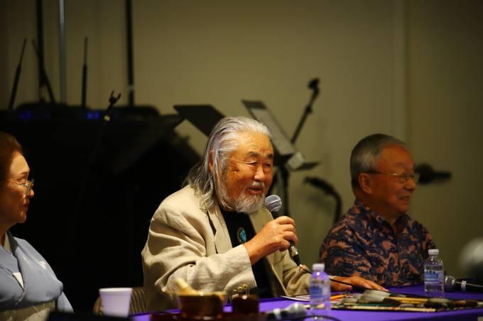 OCJAA volunteer panelist speaking