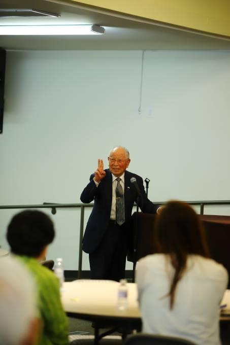 OCJAA volunteer panel miyake-san