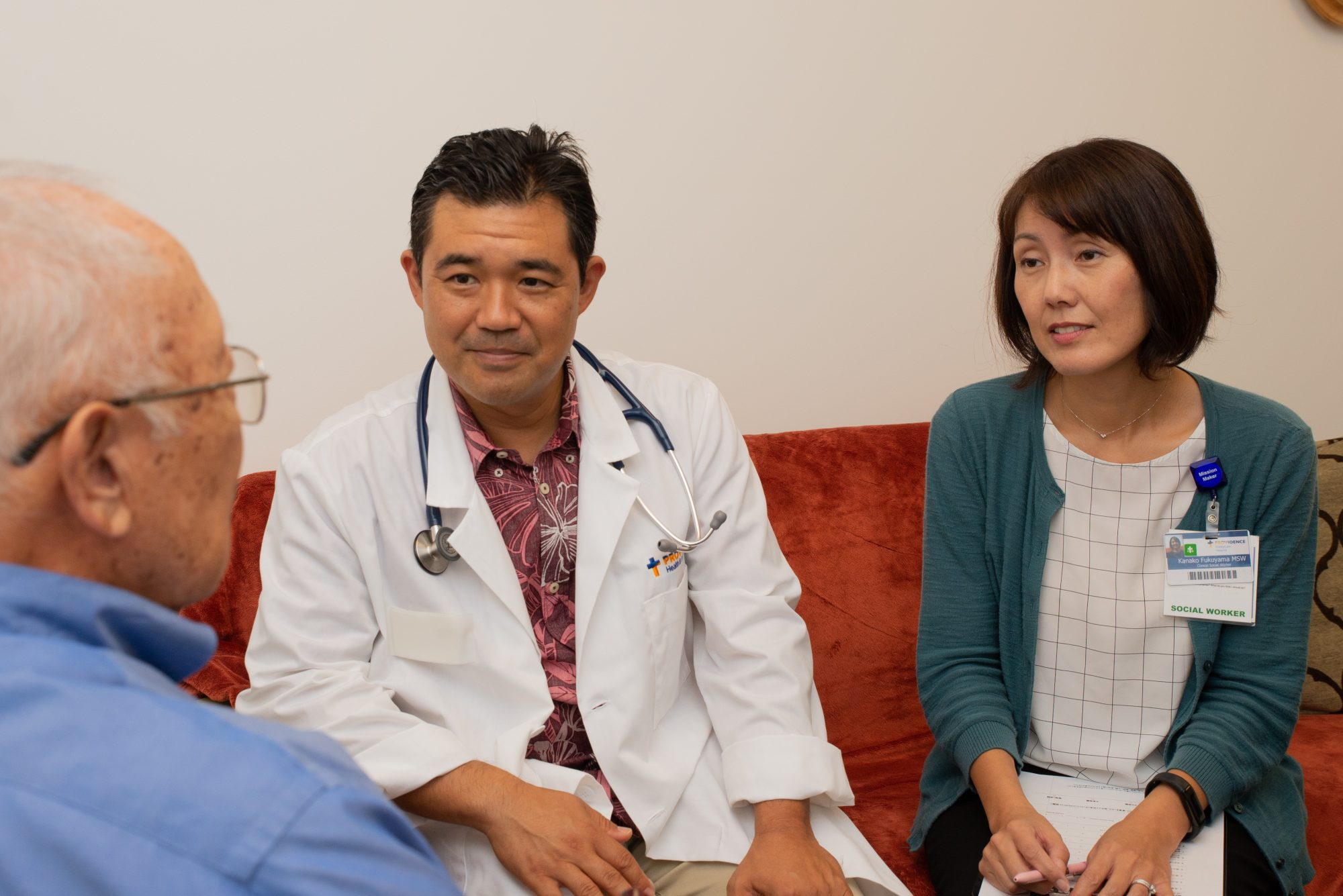 Dr. Yanami and Kanako from Iyashi Care Team