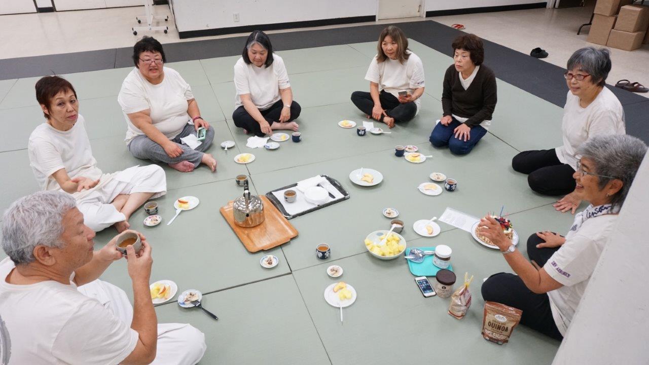 Zen Aerobics food