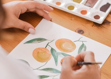 painting watercolor